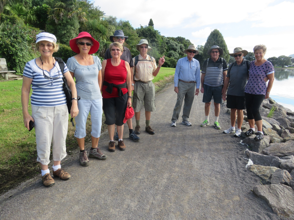 OCC rec group on Waikareao walk